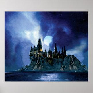Hogwarts por claro de luna impresiones