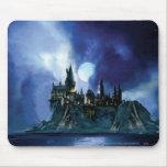 Hogwarts por claro de luna tapete de ratón