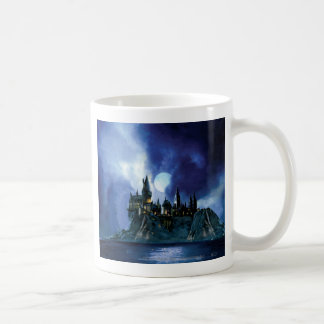Hogwarts por claro de luna taza