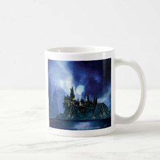 Hogwarts por claro de luna tazas de café