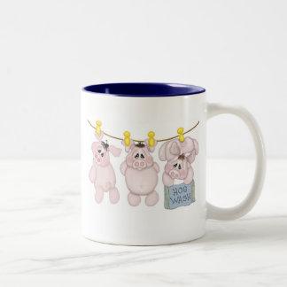 Hogwash Two-Tone Coffee Mug