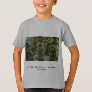 Hoh Rain Forest, Olympic National Park, Washington T-Shirt