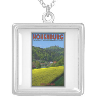 Hohenburg - Castle Ruins Silver Plated Necklace