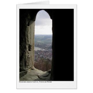 Hohenklingen Castle, Stein am Rhine Greeting Card