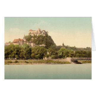 Hohensalzburg Castle III Salzburg Austria Card