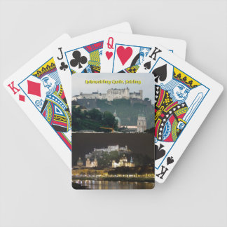 Hohensalzburg Castle, Salzburg, Austria Bicycle Playing Cards