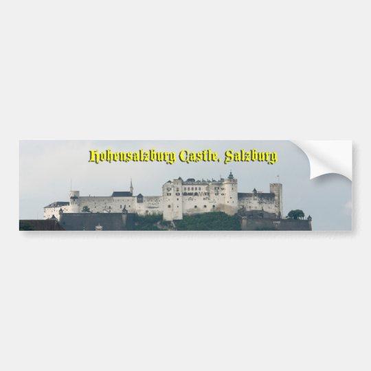 Hohensalzburg Castle, Salzburg, Austria Bumper Sticker