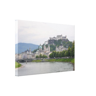 Hohensalzburg Castle, Salzburg, Austria Canvas Print