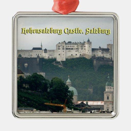 Hohensalzburg Castle, Salzburg, Austria Metal Ornament