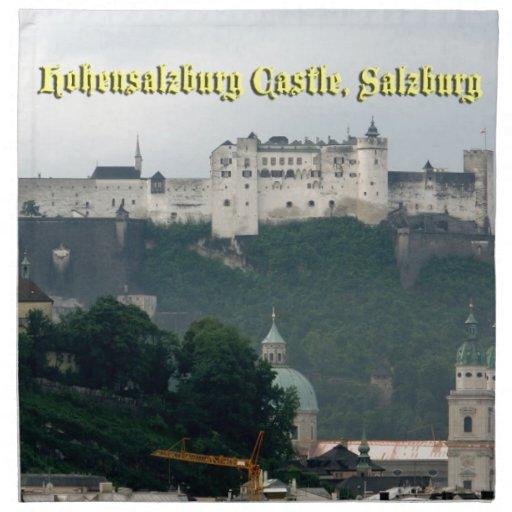 Hohensalzburg Castle, Salzburg, Austria Cloth Napkin