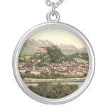 Hohensalzburg Castle, Salzburg, Austria Custom Necklace