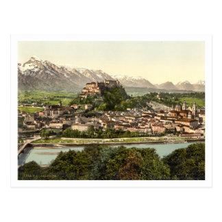 Hohensalzburg Castle, Salzburg, Austria Postcard