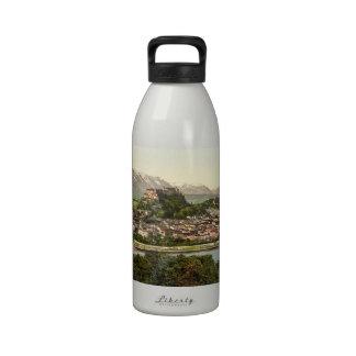 Hohensalzburg Castle, Salzburg, Austria Water Bottles