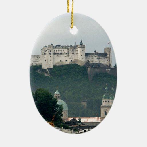 Hohensalzburg Castle, Salzburg Ceramic Ornament