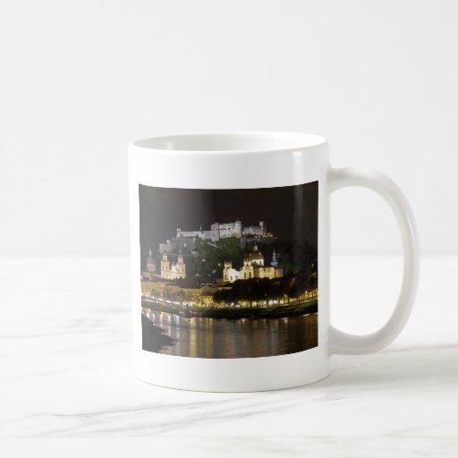 Hohensalzburg Castle, Salzburg Classic White Coffee Mug