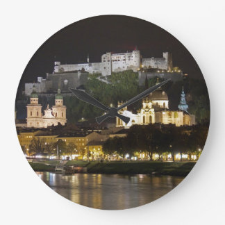 Hohensalzburg Castle-Salzburg Large Clock