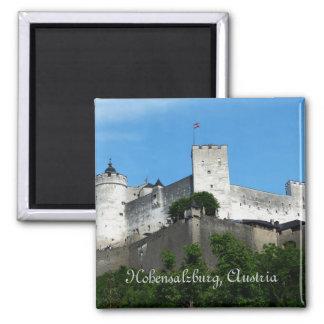 Hohensalzburg Fortress, Austria 2 Inch Square Magnet