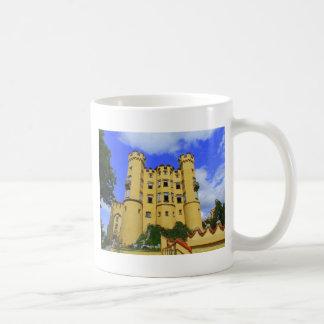 hohenschwangau bayern könig ludwig schloss coffee mug