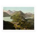 Hohenschwangau Castle and Alps, Bavaria, Germany Postcard