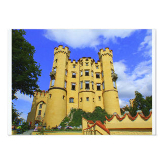 hohenschwangau castle card