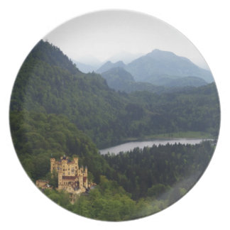 Hohenschwangau Castle Dinner Plate