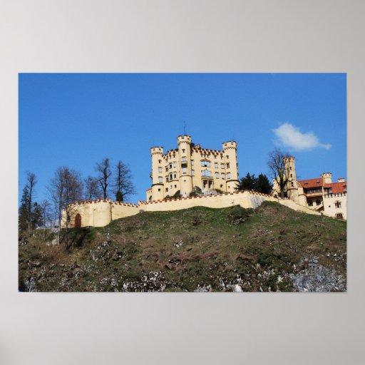 Hohenschwangau Castle Poster