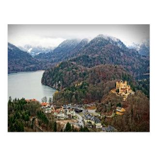 Hohenschwangau Castle -Schwangau, Germany Postcard