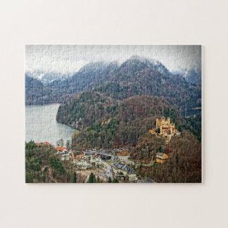 Hohenschwangau Castle -Schwangau, Germany Puzzle