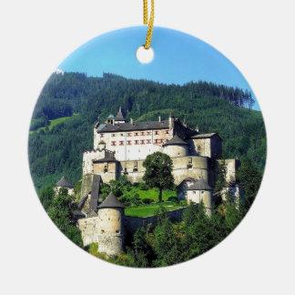 Hohenwerfen Castle Ceramic Ornament