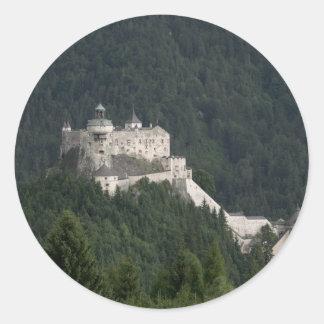 Hohenwerfen Castle Round Stickers