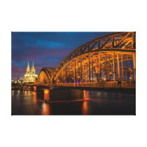 Hohenzollern Bridge Canvas Print