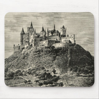 Hohenzollern Castle in Stuttgart, Germany Mouse Pad