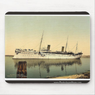 Hohenzollern, leaving the harbor, Venice, Italy vi Mouse Pad