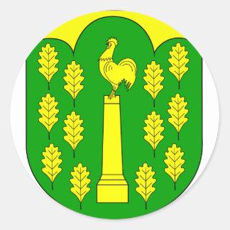 Hohner Harde Amt Wappen Classic Round Sticker