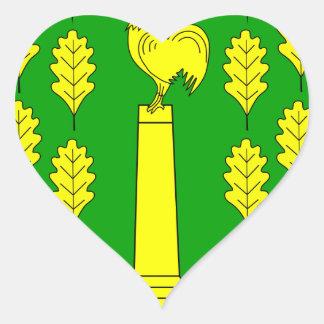 Hohner Harde Amt Wappen Heart Sticker