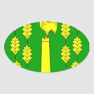 Hohner Harde Amt Wappen Oval Sticker