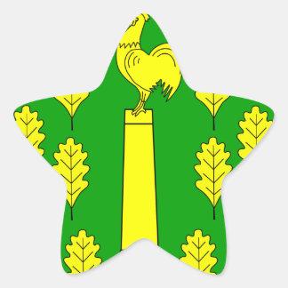 Hohner Harde Amt Wappen Star Sticker