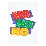 """HoHoHo 5"""" X 7"""" Invitation Card"""