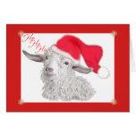 HoHoHo Angora Goat Cards