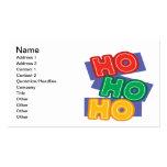HoHoHo Business Cards