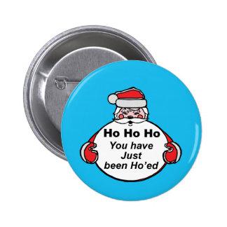 Hohoho From Santa Button