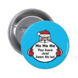 Hohoho From Santa Pinback Button