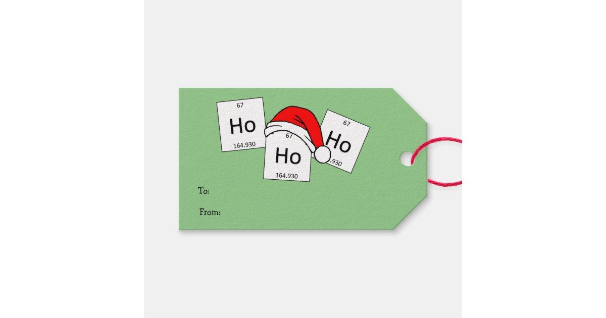 HoHoHo Holmium Chemistry Element