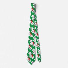 Hohoho Holmium Chemistry Element Christmas Pun Tie at Zazzle