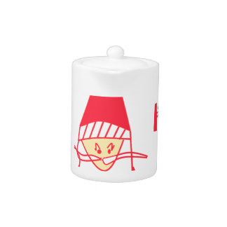 HoHoHo Merry Christmas From Santa Teapot
