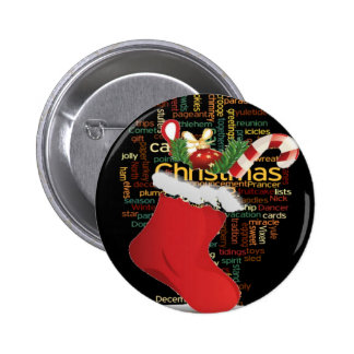 HoHoHo! Merry Christmas GIFTS and a Happy New Year Pinback Button