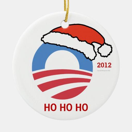 HoHoHo Obama Personalized Ornament