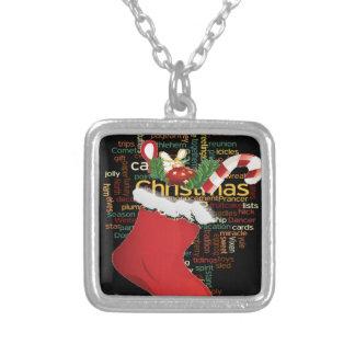 ¡HoHoHo! REGALOS de las Felices Navidad y una Colgante Cuadrado