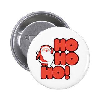 HOHOHO Santa Claus Buttons