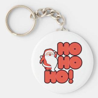 HOHOHO Santa Claus Keychains